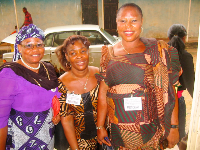 ShEntrepreneurs in Imo State participating in the NWEMVAS program