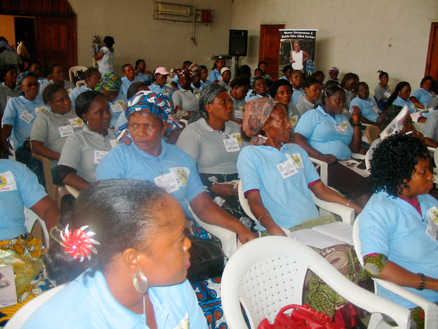 ShEntrepreneurs attending the Imo State consultative sessions