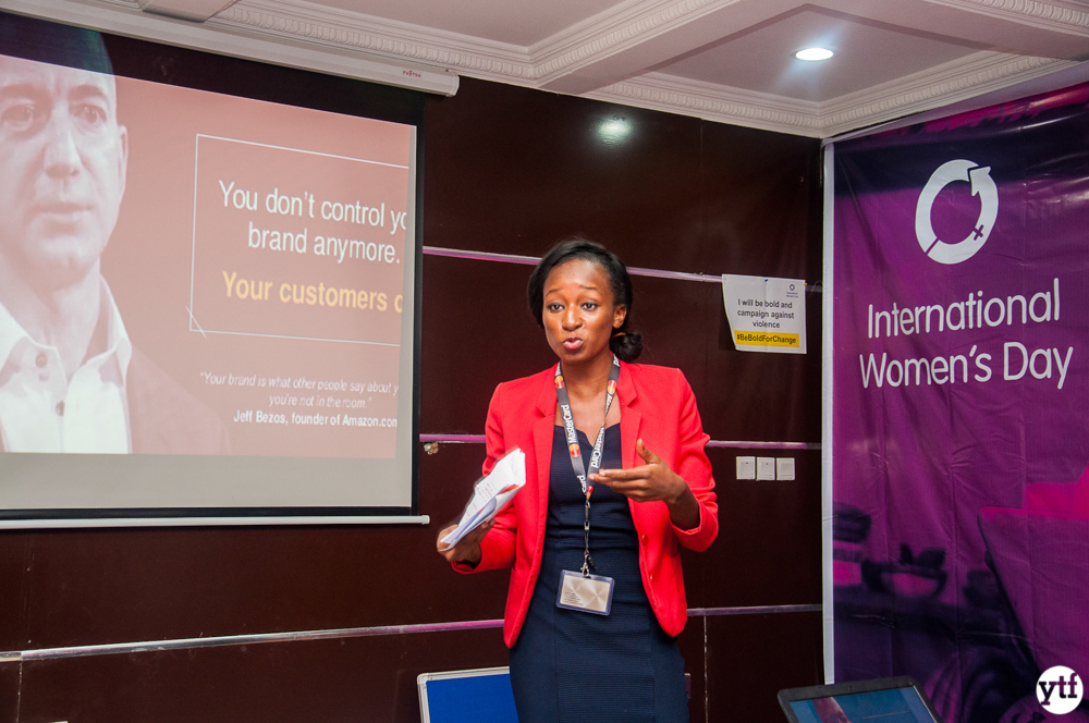 women entrepreneur workshop Nigeria mastercard presenter
